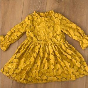 Genuine Kids yellow dress